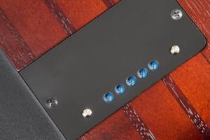 Ibanez SRF700 Portamento Fretless Bass Custom bridge piezo level control