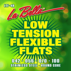 La Bella Strings Introduces Low Tension Flexible Flats