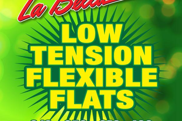 La Bella Strings Introduces Low Tension Flexible Flats