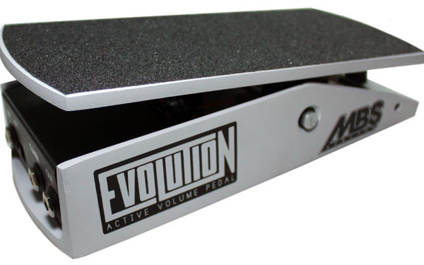 MBS Effectos Releases Evolution Volume Pedal