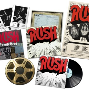 Rush Releases ReDISCovered Vinyl Box Set