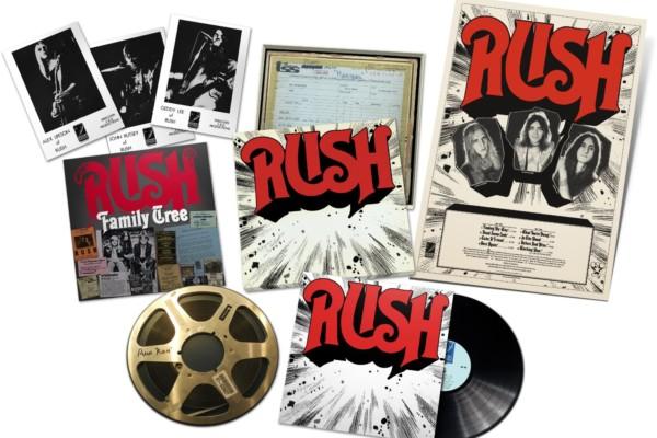 Rush Releases ReDISCovered Vinyl Box Set