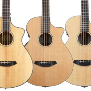 Breedlove Announces Pursuit, Solo, and Studio Acoustic-Electric Basses