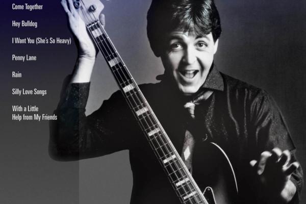 "Hal Leonard Releases ""Paul McCartney: Bass Play-Along Volume 43"""