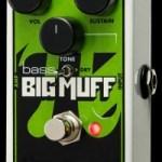 Electro-Harmonix Introduces the Nano Bass Big Muff Pi