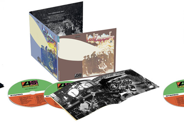 Led Zeppelin Re-Releases First Three Albums