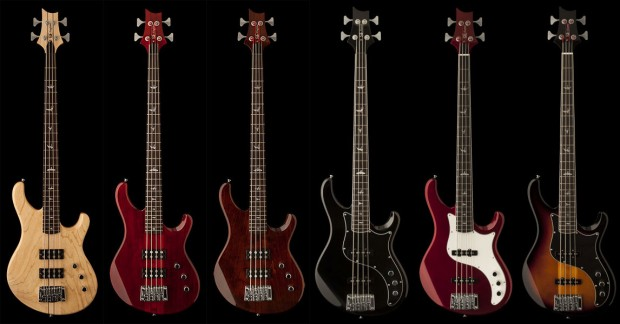 PRS Announces SE Kingfisher and SE Kestrel Bass Lineup