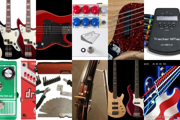 Bass Gear Roundup: The Top Gear Stories in June 2014