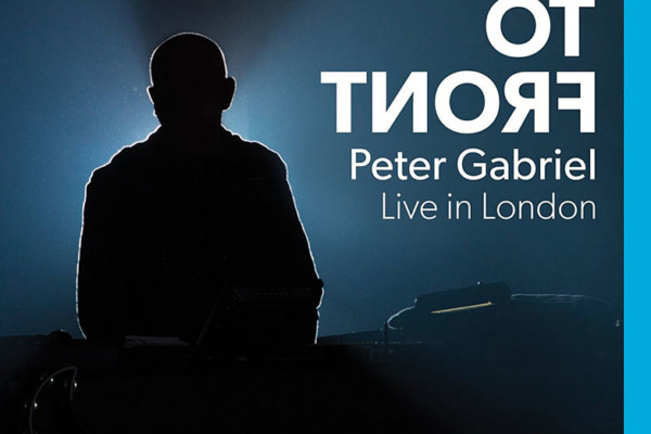 "Peter Gabriel Releases ""Back to Front"" Concert DVD"