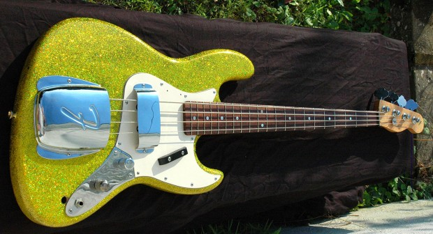 James Colby Homemade Glitzy Bass
