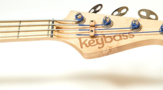 KeyBass 3.0 - Headstock