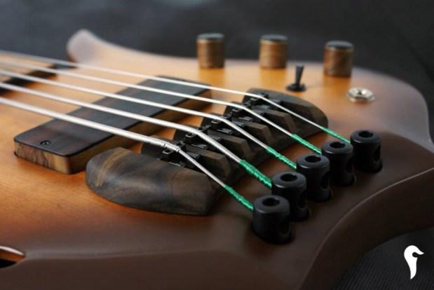 Aries Aman II Bass - bridge