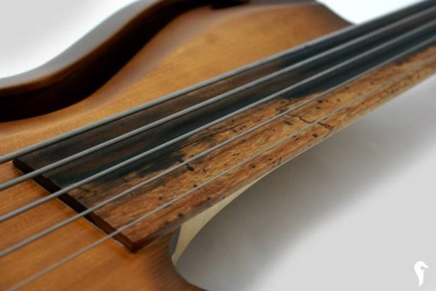 Aries Aman II Bass - neck
