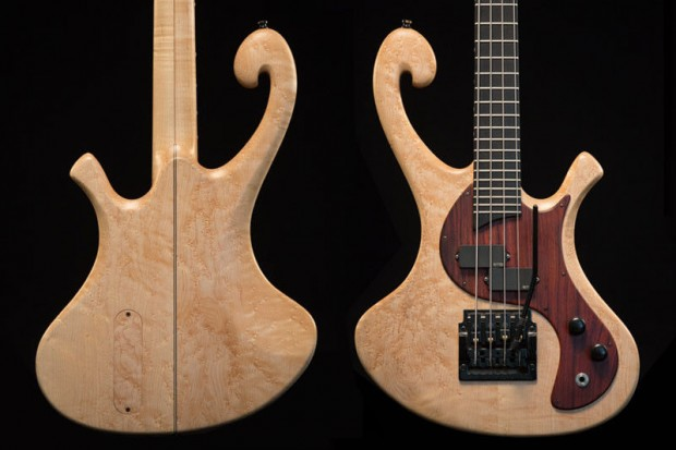 Les Claypool's Pachyderm Bass Maple 4 String Bass Body