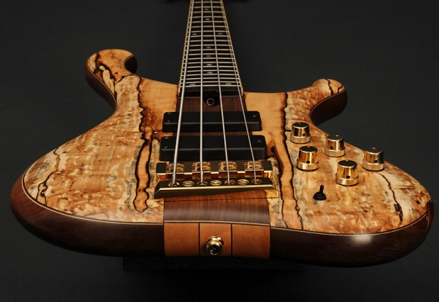 Marleaux Consat Signature Bass - Spalted