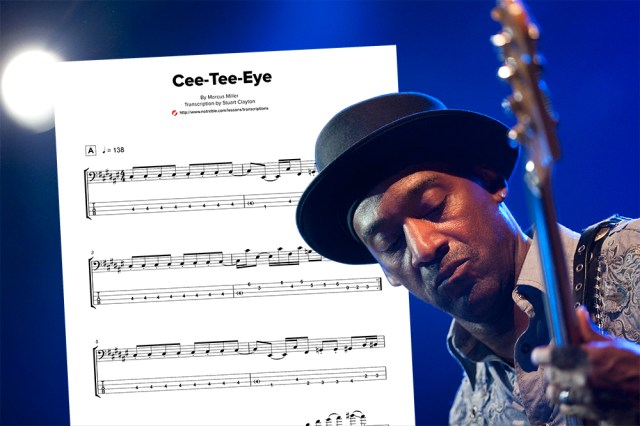 "Bass Transcription: Marcus Miller's ""Cee-Tee-Eye"" – No Treble"