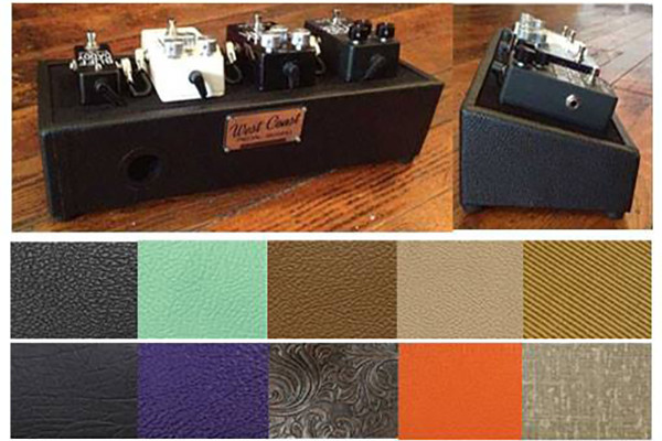 West Coast Pedal Board Introduces Little Rock Compact Pedal Board