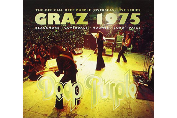 "Deep Purple Releases Full Graz Concert on ""Graz 1975"""
