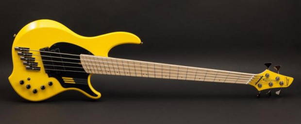 "Dingwall Adam ""Nolly"" Getgood NG-2 Bass - Ferrari Yellow"