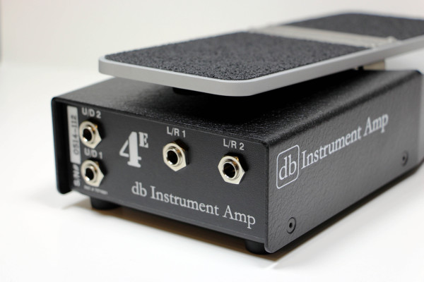 db Instrument Amp Releases 4E Dual Axis Expression Pedal