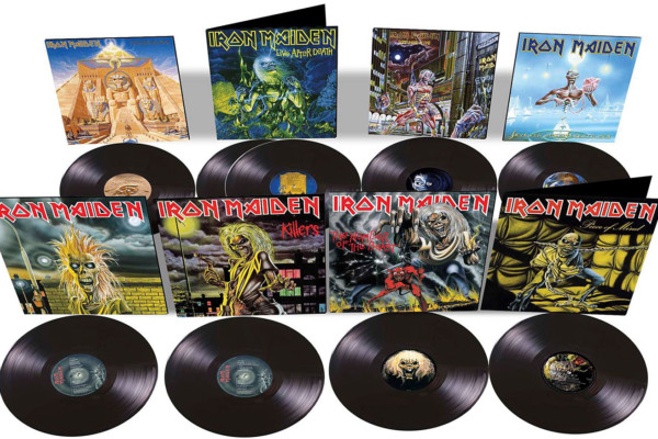 Iron Maiden 80's Albums, Singles Reissued on Vinyl
