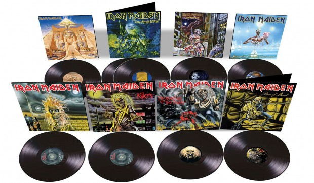 Iron Maiden: 80's Vinyl Reissues