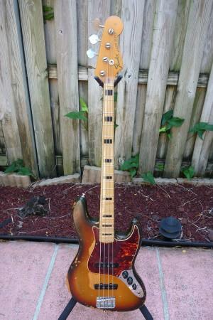 Ken Burgner 1972 Fender Jazz Bass