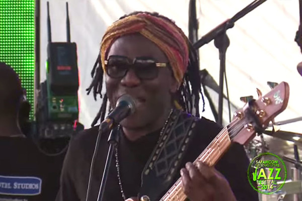 Richard Bona: Live at Safaricom International Jazz Festival 2014