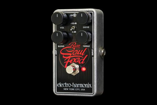 Electro-Harmonix Introduces Bass Soul Food Pedal
