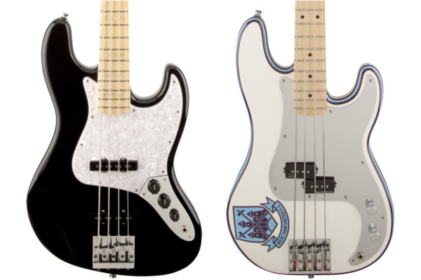 Fender Updates Geddy Lee and Steve Harris Signature Basses