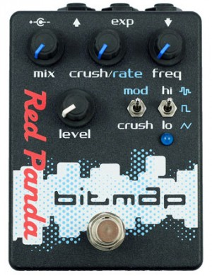 Red Panda Bitmap Bitcrusher Pedal