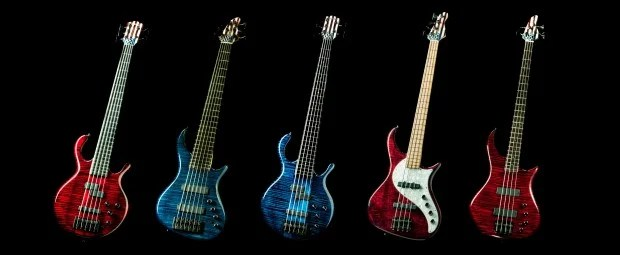 Pedulla Limited Edition 40th Anniversary Bass Series