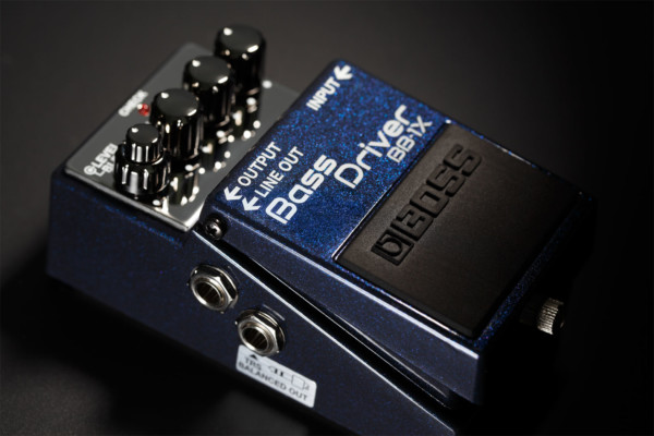 Boss Announces BB-1X Bass Driver Pedal