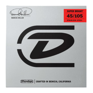 Dunlop Debuts Marcus Miller Super Bright Strings