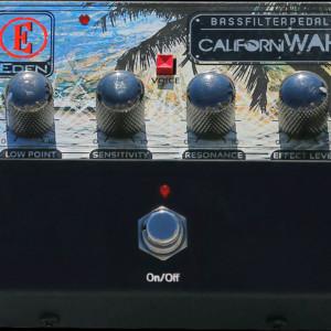 Eden Introduces Californiwah Bass Filter Pedal
