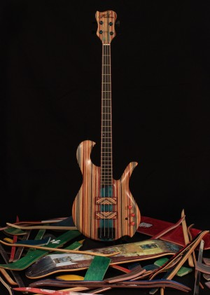 Hilton Guitars Sk8bass