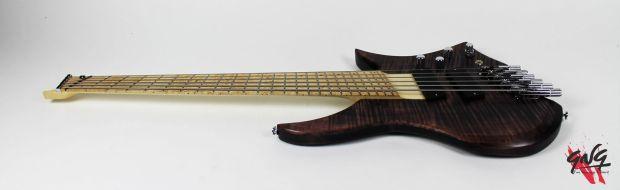 Negrini Guitars Fëanor JMS6 Full Angled