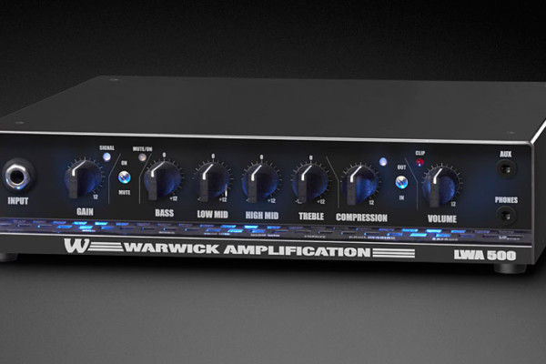 Warwick Introduces the LWA 500 Compact Bass Amplifer
