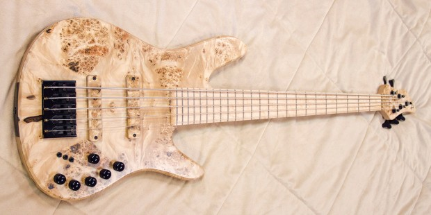 Accuracy Basses Matisse Deluxe 5-String Bass