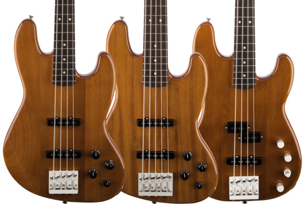 Fender Introduces Deluxe Active Okoume Basses