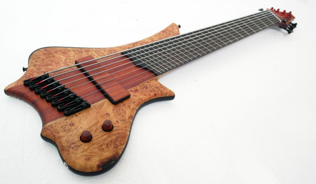 Prometeus Guitars Kirlian 8 Bass Angled