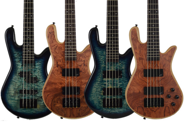 Spector Introduces Legend Neck-Thru Basses for 2015