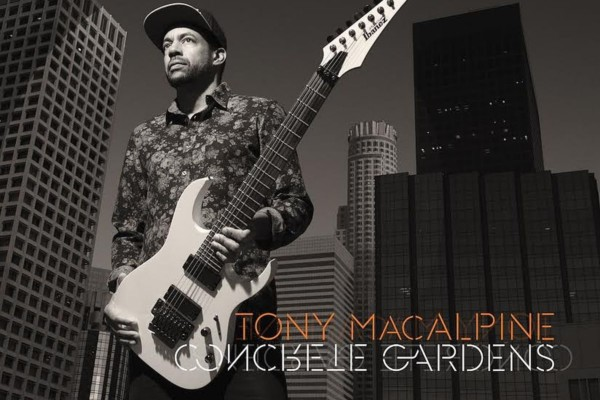 Variety of Bassists Appear on Tony MacAlpine's Latest Instrumental Effort