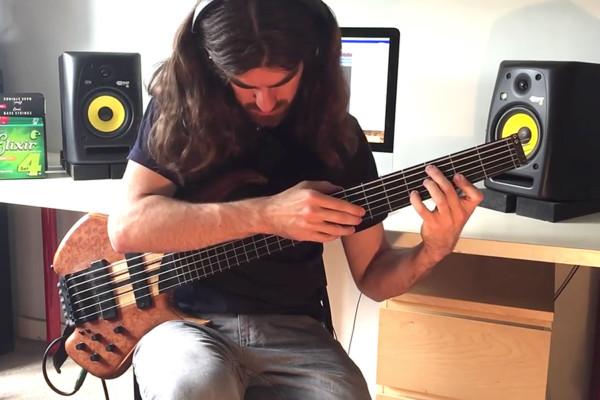 """Simon Fitzpatrick: """"Nessun Dorma"""" Solo Bass Performance"""
