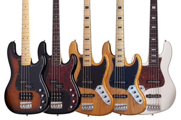 Schecter Introduces Diamond Plus Basses