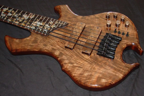 Bass of the Week: Stambaugh Designs 6-String Custom Inlayed Bass