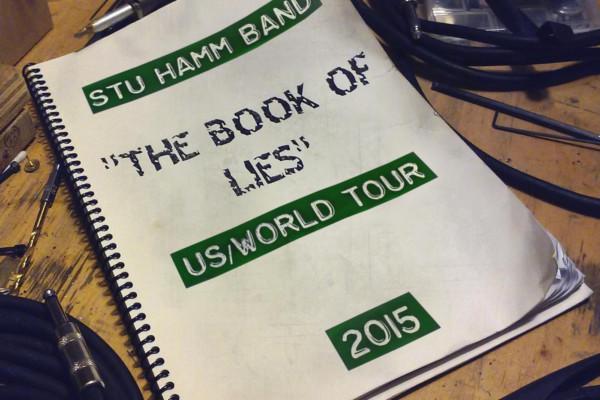 "Stuart Hamm Releases ""The Book of Lies"""
