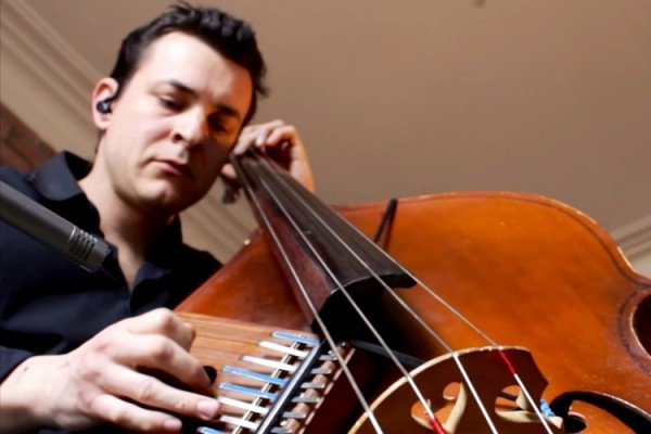 """Olivier Babaz: Bass & Kalimba Cover of """"Stairway to Heaven"""""""