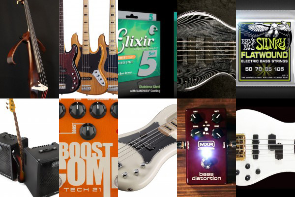 Bass Gear Roundup: The Top Gear Stories in May 2015