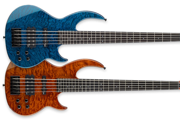 ESP Guitars Announces Two New Bunny Brunel Signature Basses